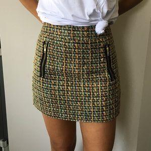 J.Crew Tweed Skirt Size 4